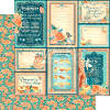 Cafe Parisian   - Life Is Sweet - 12 x 12 Patterned Paper - Graphic 45