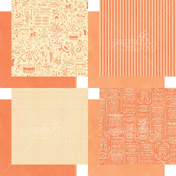 Cafe Parisian  - 6x6 Patterns & Solids - Graphic 45-1
