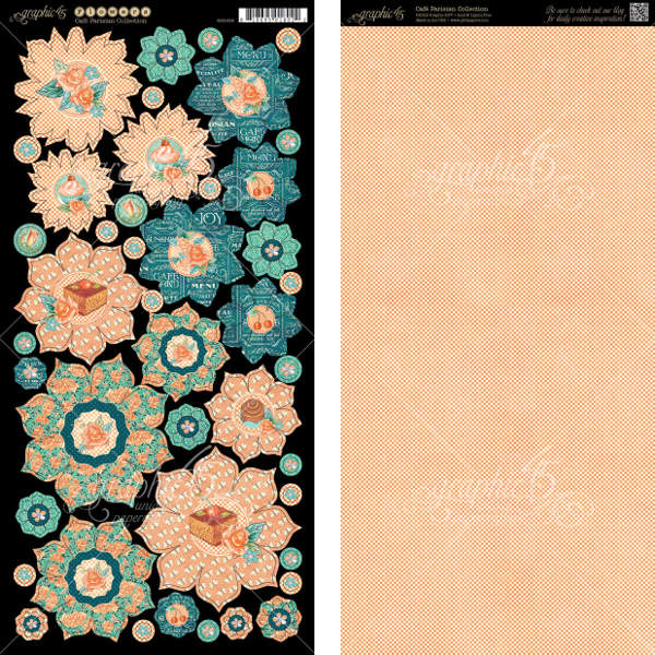 Cafe Parisian  - Cardstock Flowers - Graphic 45-1