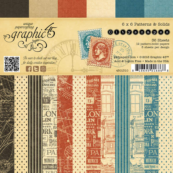 Cityscapes -   6x6 Patterns & Solids - Graphic 45