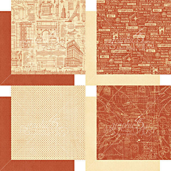 Cityscapes -   6x6 Patterns & Solids - Graphic 45-2