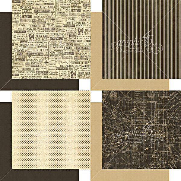 Cityscapes -   6x6 Patterns & Solids - Graphic 45-3