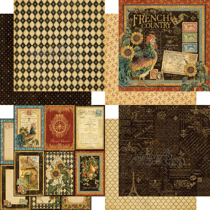 French Country - Deluxe Collectors Edition - Graphic 45-3