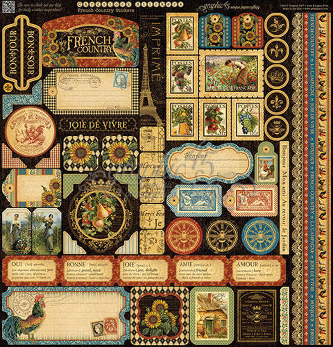 French Country - Deluxe Collectors Edition - Graphic 45-4