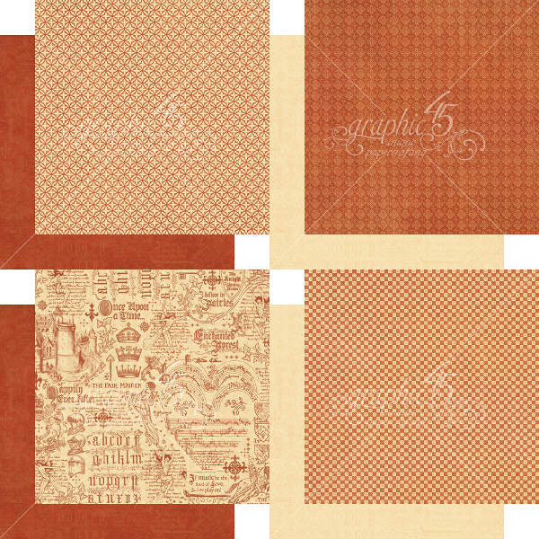 Enchanted Forest -   6x6 Patterns & Solids - Graphic 45-1