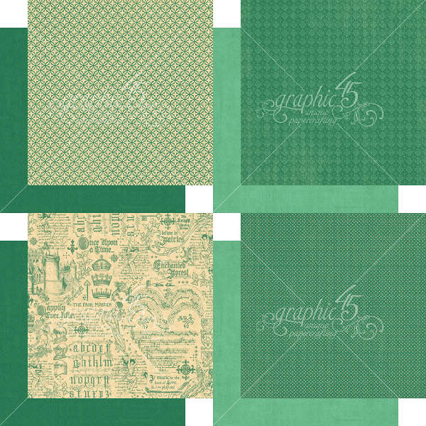 Enchanted Forest -   6x6 Patterns & Solids - Graphic 45-3