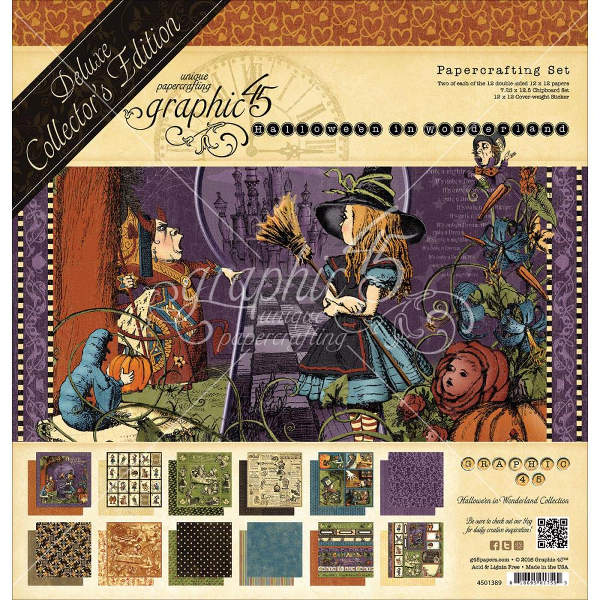 Halloween in Wonderland - Deluxe Collectors Edition - Graphic 45