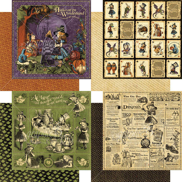 Halloween in Wonderland - Deluxe Collectors Edition - Graphic 45-1