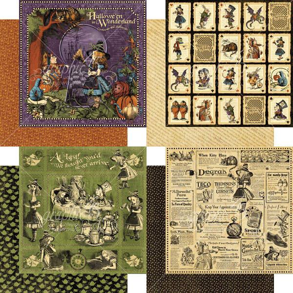 Halloween In Wonderland Deluxe Collectors Edition Graphic 45