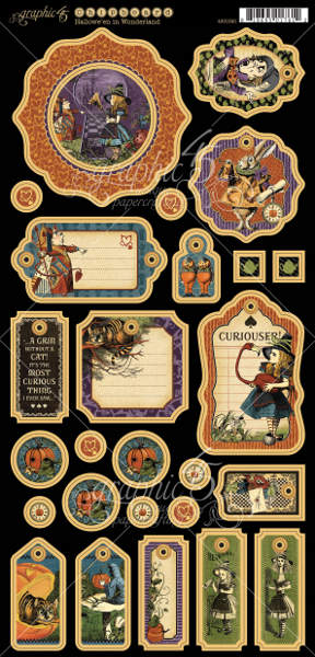 Halloween in Wonderland - Deluxe Collectors Edition - Graphic 45-5