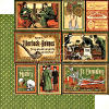 Master Detective  Its Elementary 12 x 12 Patterned paper - Graphic 45