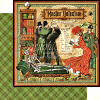Master Detective  Master Detective 12 x 12 Patterned paper - Graphic 45