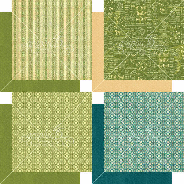 Nature Sketchbook 6x6 Patterns & Solids - Graphic 45-1