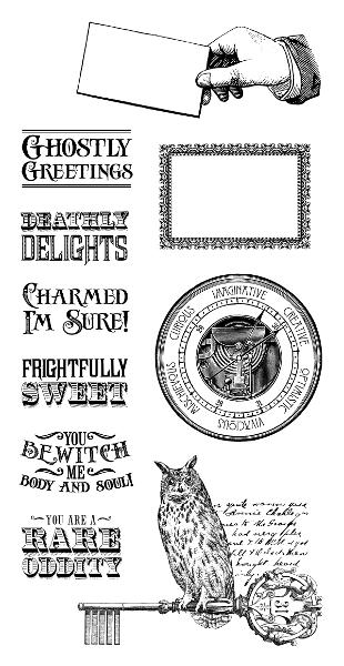 Rare Oddities - Cling Stamps 2 - Graphic 45