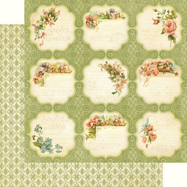 Secret  Garden - Meadow Lark - 12x12 Double-sided Paper - Graphic 45