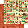 St Nicholas   - Christmas Cheer - 12 x 12 Patterned Paper - Graphic 45