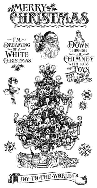 St Nicholas - Cling Stamps 2 - Hampton Art - Graphic 45