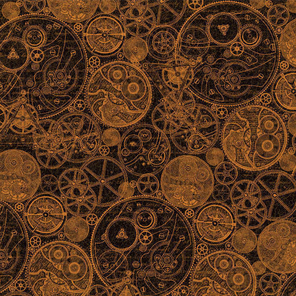 Steampunk Spells -  Clockworks - 12x12 Double-sided Paper - Graphic 45-1