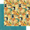 Vintage Hollywood  Dazzling Diva 12 x 12 Patterned Paper - Graphic 45