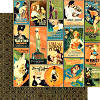 Vintage Hollywood  Tinseltown 12 x 12 Patterned Paper - Graphic 45