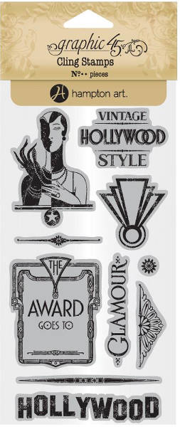Vintage Hollywood - Cling Stamps 3 - Graphic 45