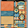 Worlds Fair -  Cardstock Stickers - Graphic 45