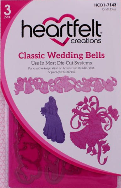 Craft Dies - Classic Wedding Bells - Heartfelt Creations