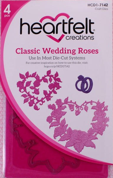 Craft Dies - Classic Wedding Roses - Heartfelt Creations