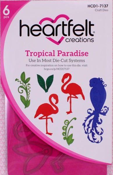 Craft Dies - Tropical Paradise - Heartfelt Creations