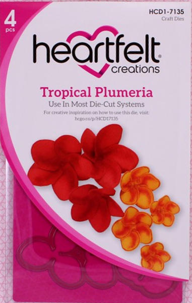 Craft Dies - Tropical Plumeria - Heartfelt Creations
