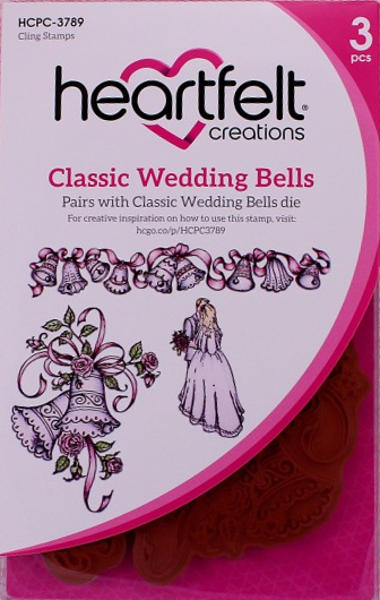 Cling Stamps - Classic Wedding Bells - Heartfelt Creations