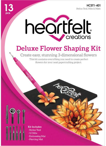 Craft Dies - Deluxe Flower Shaping Kit - Heartfelt Creations