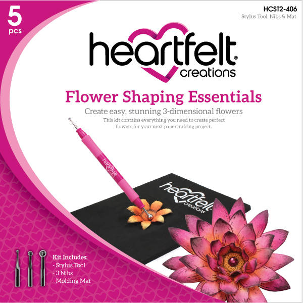 Craft Dies - Flower Shaping Essentials - Heartfelt Creations
