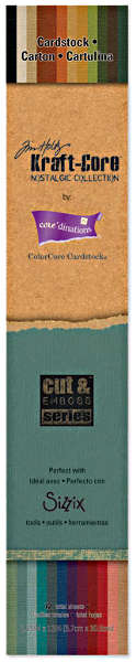 Kraft Core - Nostalgic - 2.25x12 Paper Pad - Tim Holtz - Core'dinations