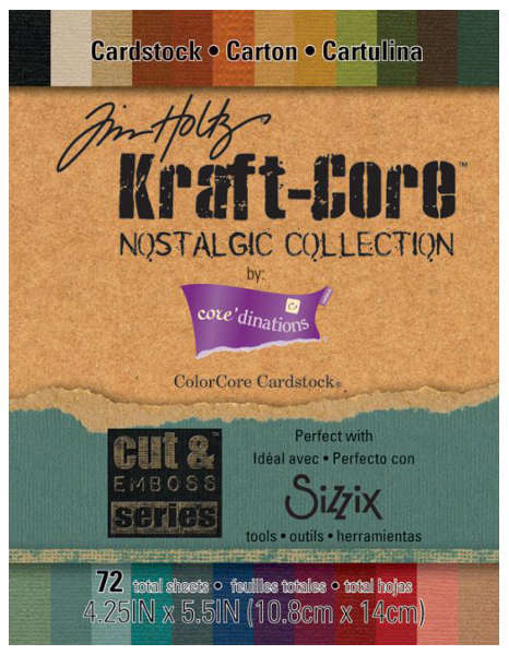 Kraft Core - Nostalgic - 4.25x5.5 Paper Pad - Tim Holtz - Core'dinations
