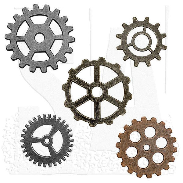 Idea-ology Metal Gadget Gears - Advantus-1