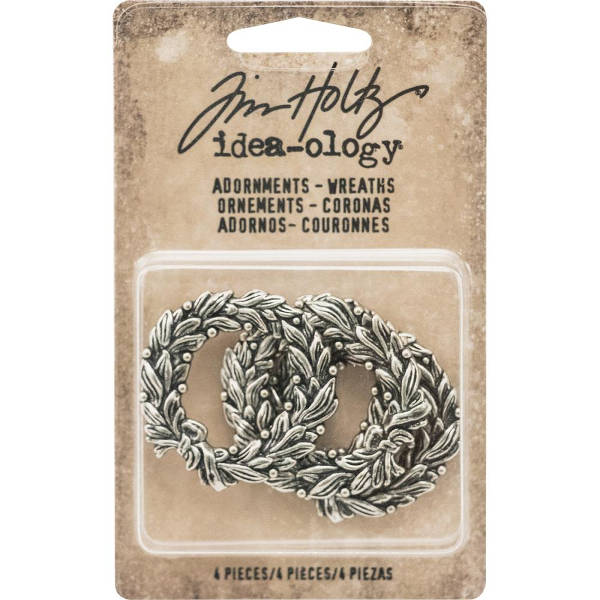 Idea-ology Adornments Wreaths  - Tim Holtz - Advantus