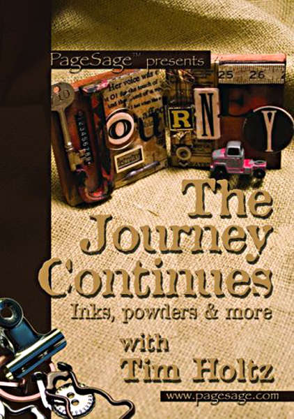 DVDs - The Journey Continues - Tim Holtz - Design Originals