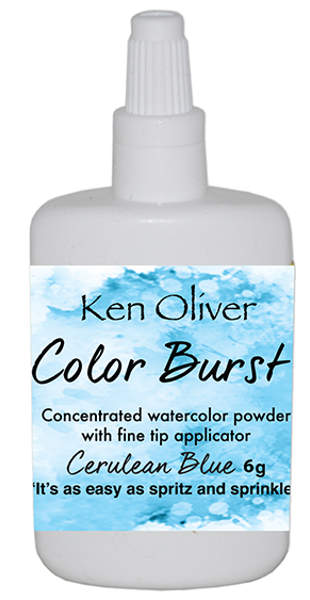 Ken Oliver Color Burst - Cerulean Blue