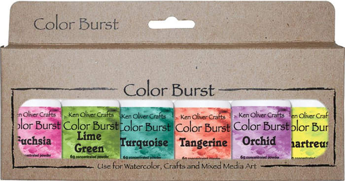 Ken Oliver Color Burst  6 Pack - Caribbean Brights