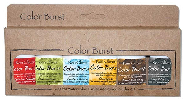 Ken Oliver Color Burst  6 Pack - Rich Moroccan Shades