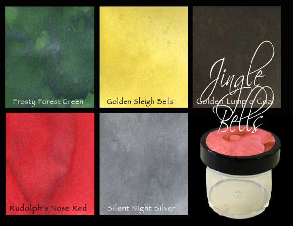 Starburst Color Shots - Jingle Bells Set - Lindy's Stamp Gang