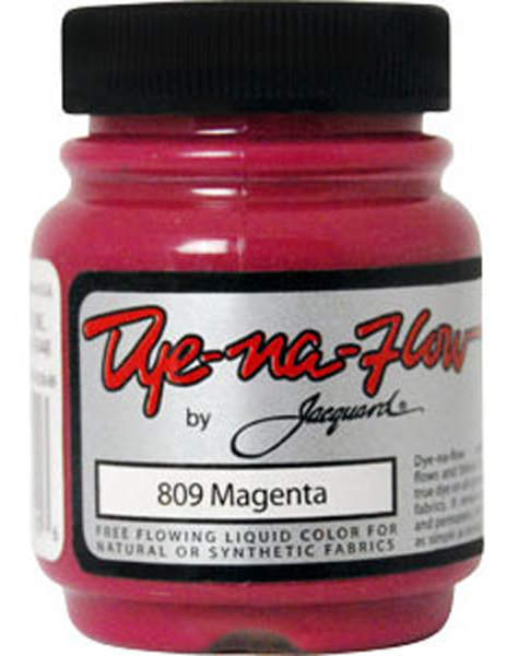 Dye-Na-Flow Magenta Color Paint - Jacquard