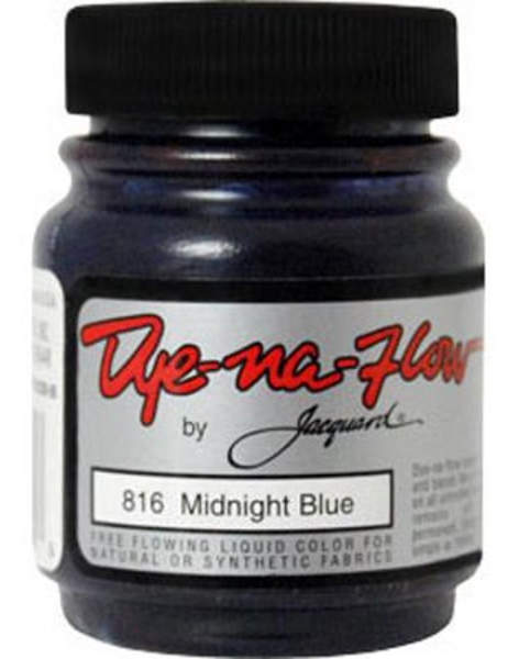 Dye-Na-Flow Midnight Blue Color Paint - Jacquard
