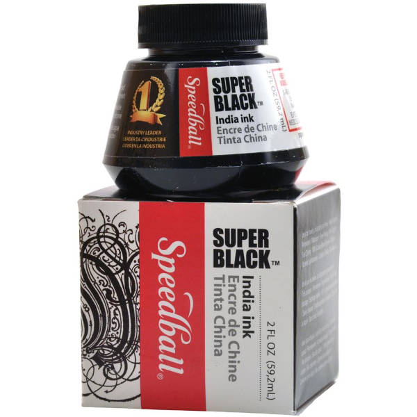 Super Black India Ink - Speedball-1