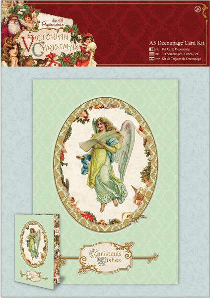 Victorian Christmas - A5 Decoupage Card Kit - Papermania