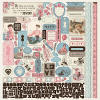 Authentique Stitches 12 x 12 Cardstock Sticker Sheet - Authentique Paper