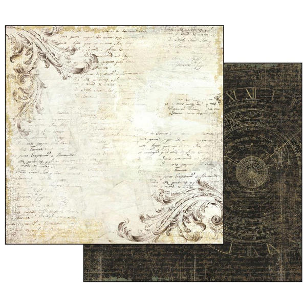 Stamperia Alchemy - Old Lace 12x12 Double-sided Paper - Stamperia