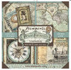 Stamperia Voyages Fantastiques 12x12 Paper Collection Kit - 22 pack - Stamperia