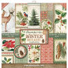 Stamperia Winter Botanic - 12x12 Paper Collection Kit - Stamperia
